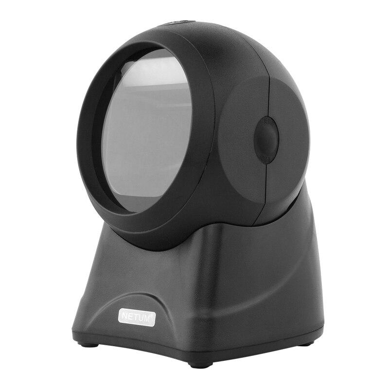 NT-2050 2D/QR Всенаправленный сканер штрих-кода pdf417 и NT-2030 1D планшетный Desktop считывания штрих-кода для магазина NETUM