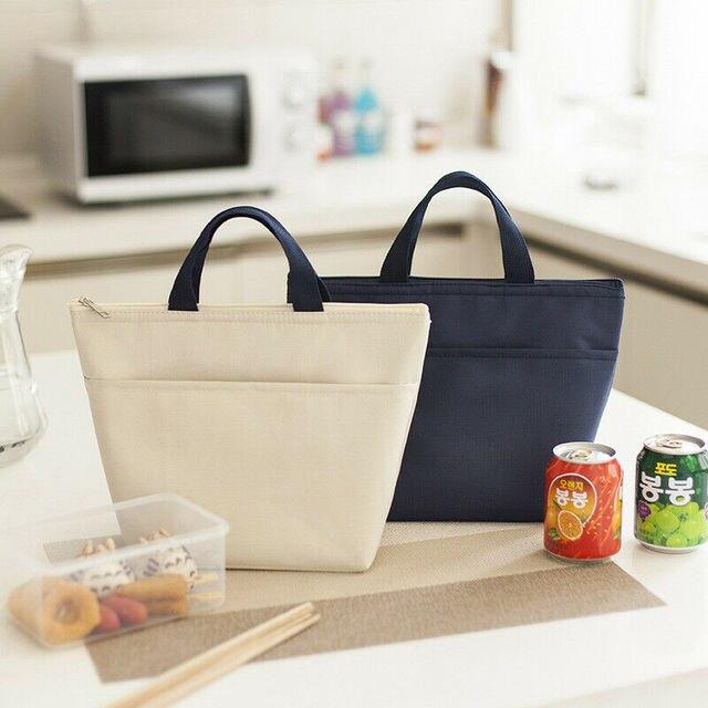 Bolsa de almuerzo fresca de comida portátil impermeable con aislamiento térmico caja de Picnic