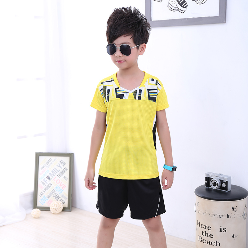 Sport Running Badminton Clothes 5052 Quality And Quantity Assured sports Children Table Tennis Clothes Girl New Children Tennis Clothes Boy Sportswear