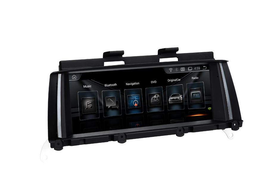 Excellent 6 core Android 9.0 Navigation dans la voiture pour BMW X3 F25 X4 F26 2014-2016 Navirider écran tactile voiture gps radio lecteur stéréo