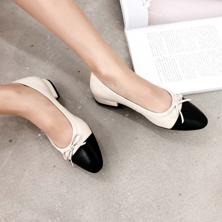 Big Size 9 10 11 12 13 14 Ladies High Heels Women Shoes Woman Pumps Round-headed bow-tie shallow-mouthed monochrome shoesBig Size 9 10 11 12 13 14 Ladies High Heels Women Shoes Woman Pumps Round-headed bow-tie shallow-mouthed monochrome shoes