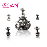 BQAN 1 Set Magnetic Nail Tip Practice Stand Chinese Retro Style Stuck Crystal Holder Tool DIY