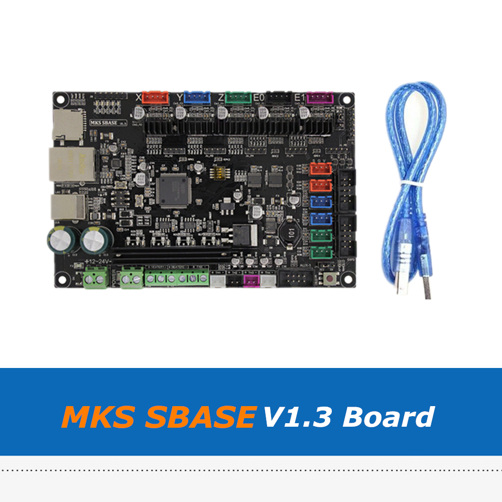 32bit MKS SBASE V1.3 Open-Source Control Board For 3D Printer 3d printer main control panel sbase v1 3 open source firmware 32 motherboard