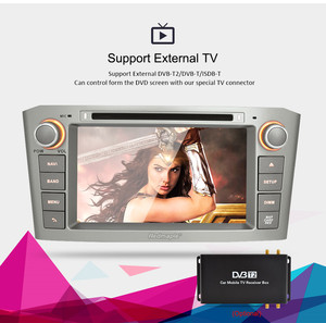 Image 3 - 7 IPS 4G RAM Android 9.0 Car DVD GPS Navigation Player For Toyota Avensis/T25 2003 2008 WIFI FM Video Radio Stereo Multimedia