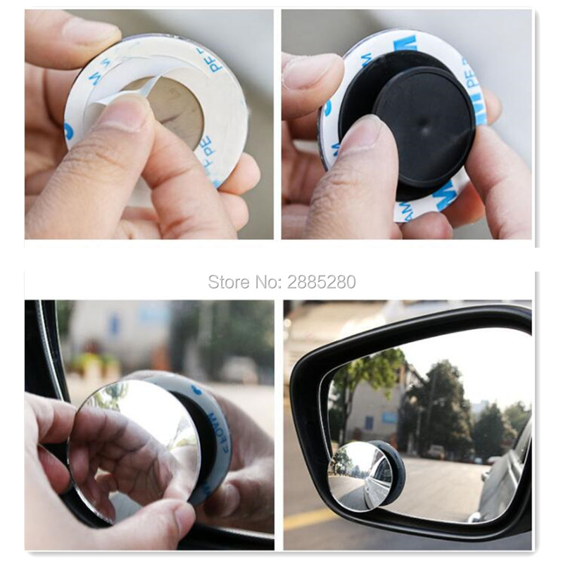 1pc Car Styling 360 Degree Blind Spot Mirror For Suzuki Grand Vitara 2016 Sx4 Swift Jimny Hyundai Solaris Verna Tucson Ix35 I30