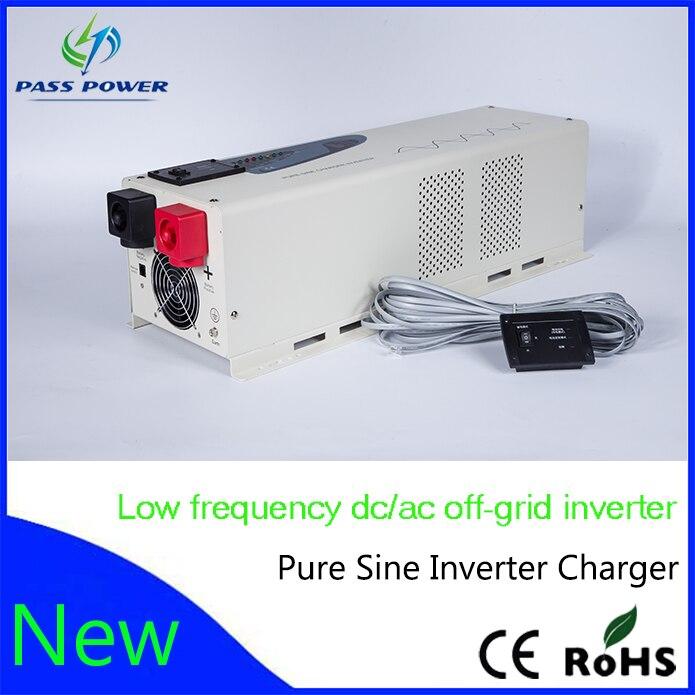 Grande Capacité Générateur Onde sinusoïdale Pure 5000 w/5KW Hybride Onduleur Solaire