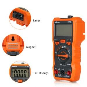 Image 3 - RICHMETERS Multimetro RM113D Multimetro Tester Multimetro digitale 6000 conta misurazione automatica della temperatura della tensione ca/cc