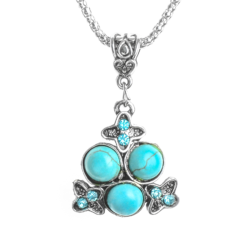 H:HYDE Nice Shipping 1PC Womens Jewelry Beautiful Crystal Special Pendant Natural Stone Necklace Hot Sale