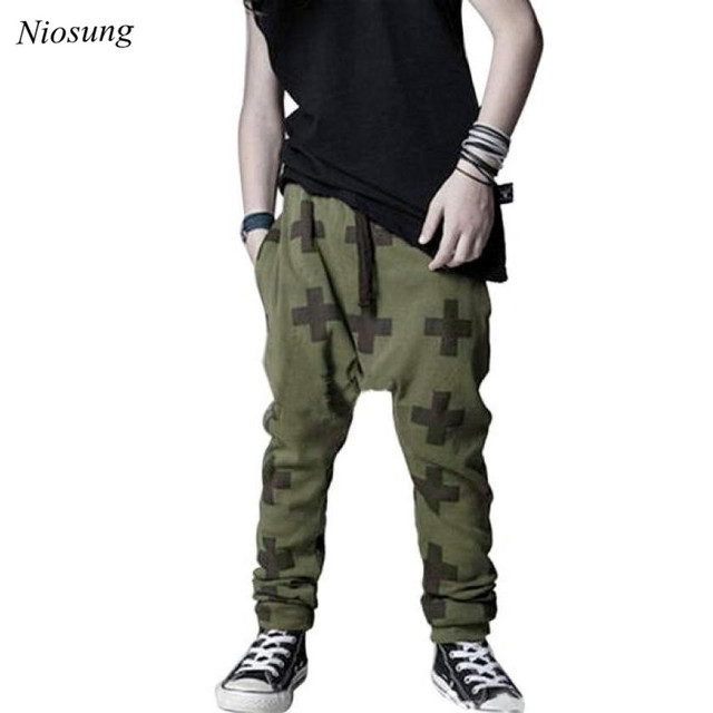 TC  New Kids Baby Girl Boy Baggy Harem Pants Joggers Elastic Bottoms  Trousers Casual Sport d5db42494af
