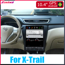 ZaiXi 10.4 Tesla Type Android For Nissan X-Trail 2013~2019 Car DVD Player Navigation GPS Radio Multimedia system