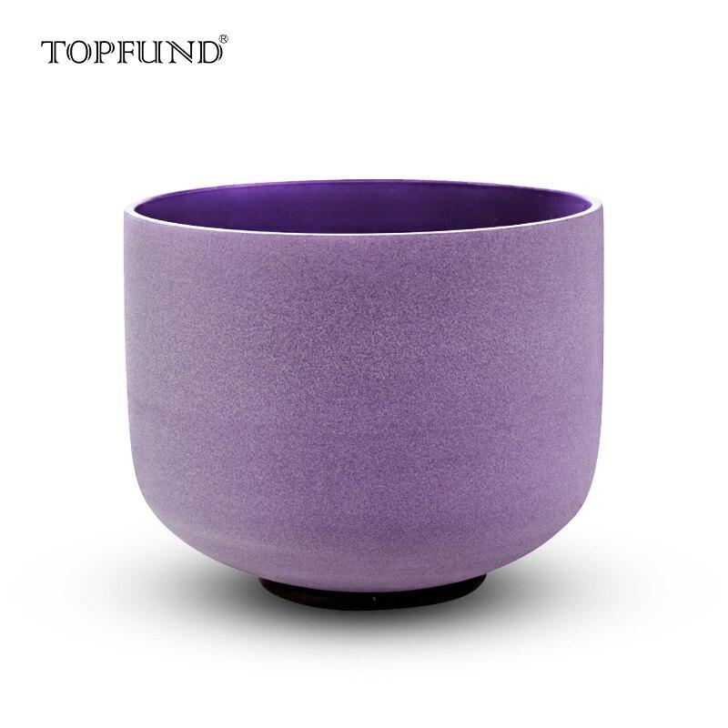 TOPFUND 432hz/perfect pitch B Note Crown Chakra Purple