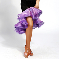 2017 heiße Latin Dance Röcke Hohe Taille Fischschwanz Rock Kein Schließen Tops Sex Lady Fitness Kleidung Leistung Kleid Marine Meninas