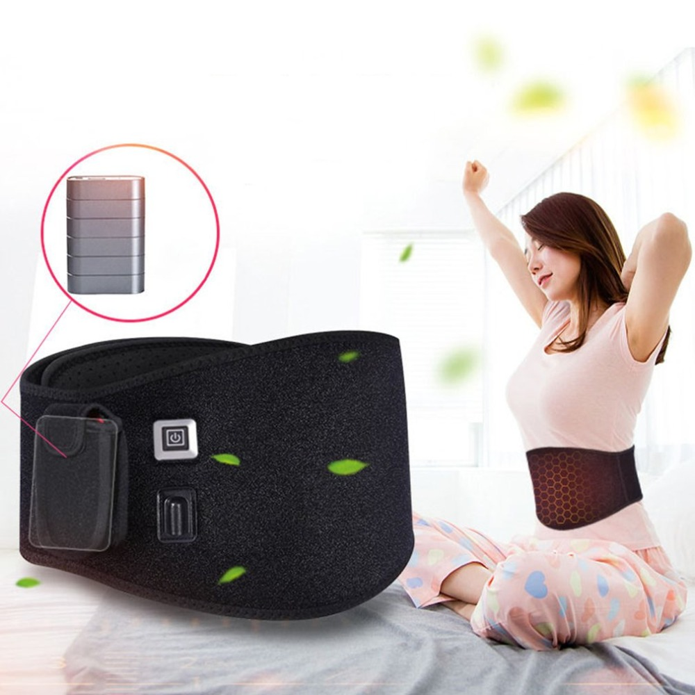 5 pcs Electric waist belt Warm palace belt Palace cold belt warm waist belt Massager цена