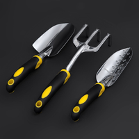 Garden Tools Set Suit Aluminum Tool Two Color Handle gardening three sets