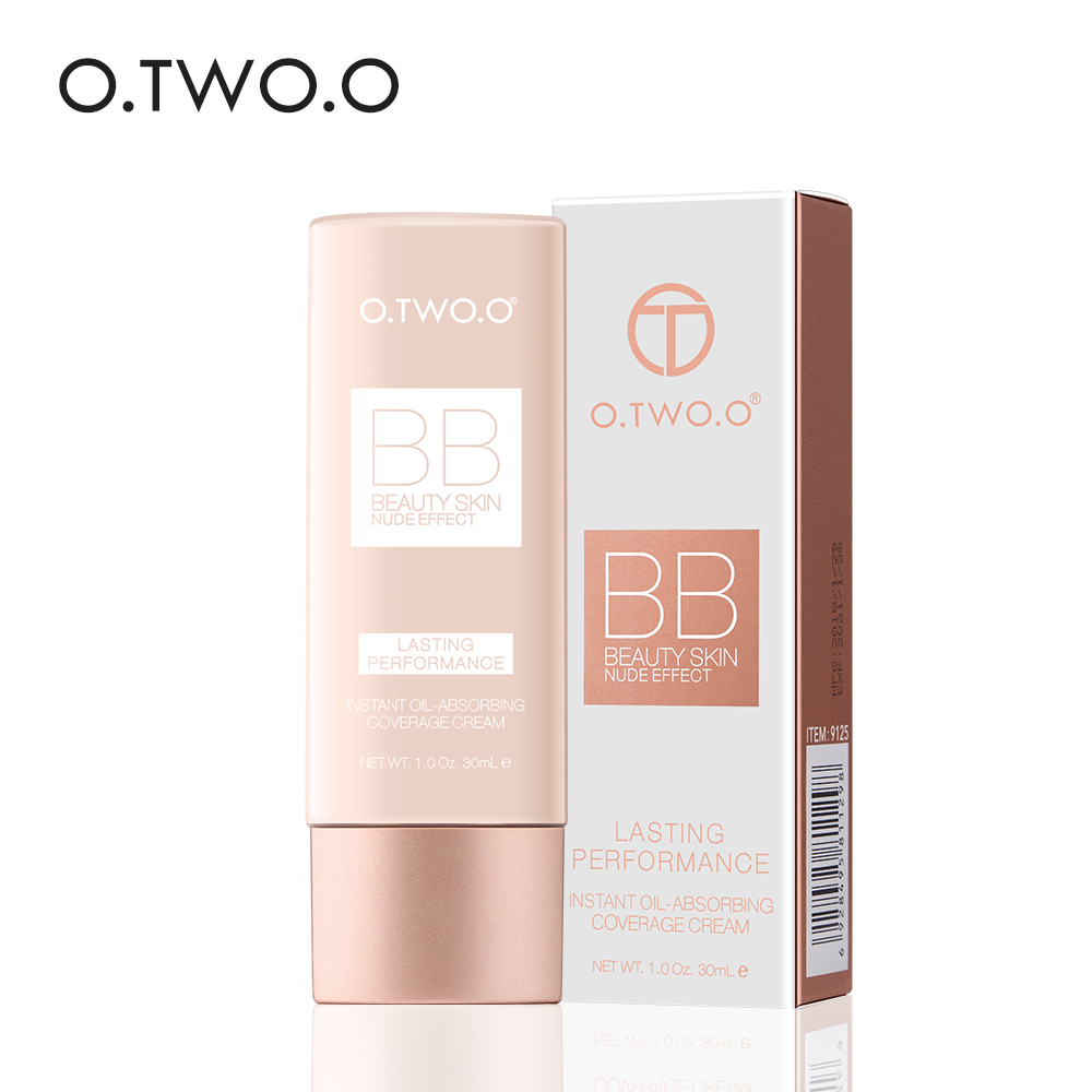 O.TWO.O 2018 New Face Make Up BB & CC Creams Makeup Face Base Liquid Foundation Concealer Moisturizing Beauty Korean Cosmetics image