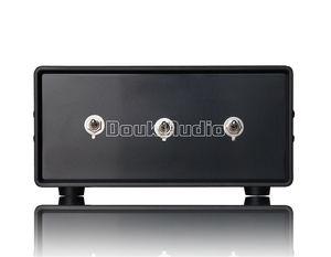 Image 2 - Nobsound סטריאו 3 דרכים אודיו אות XLR מאוזן קלט Switcher ממיר ספליטר Preamp משלוח חינם