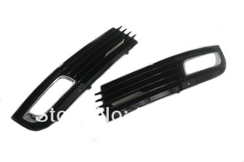 Facelifted Front Side Fog Light Grille Set For Audi <font><b>A8</b></font> <font><b>D3</b></font> image
