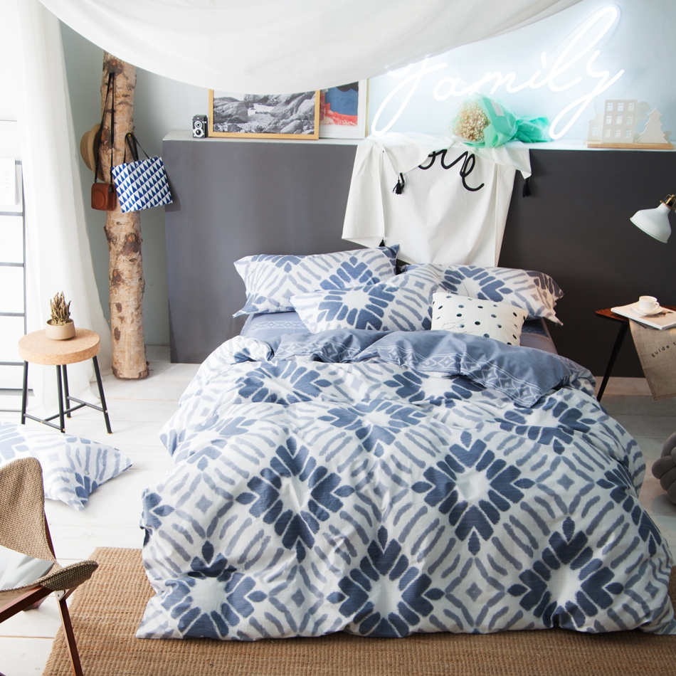 Cotton Quilt Covers King Size Us 135 8 Mysterious Geometric Pattern Duvet Cover Set 100 Cotton Quilt Cover Bed Sheets Bedding Pillow Case Queen King Size Bedding Set In Bedding
