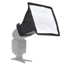 15X17cm Reflector Flash Diffuser Softbox Professional Mini Photo Diffuser Soft Light Box for Canon Nikon Sony Camera