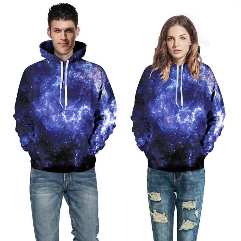 3D Print Hoodies Star digital printing Sweatshirts Fashion Pocket Palace Hoodie Men Colorful Sweatshirts Women Top Pullovers