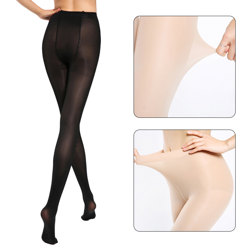 2018 Super Elastic Magical Stockings Sexy Women Tights Skinny Legs Pantyhose Prevent Hook Silk Nylons Collant Femme Medias HTB1ZmzyacbI8KJjy1zdq6ze1VXaD