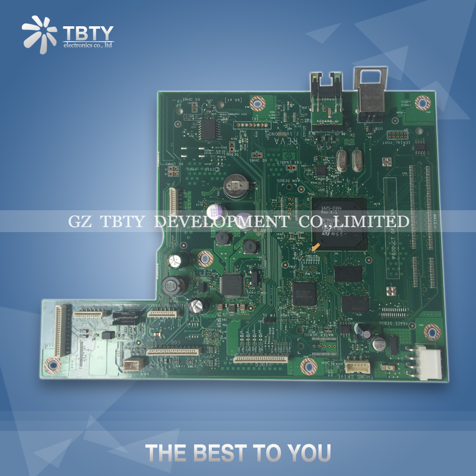 все цены на 100% Guarantee Test Main Formatter Board For HP CM 1415 1415FN CM1415FN CE538-40028 HP1415 FNW Mainboard On Sale онлайн