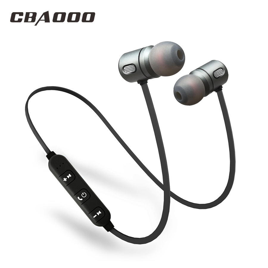 CBAOOO Sport Bluetooth Earphone Wireless Waterproof hifi Super bass Stereo Headset Magnetic Earphone with Mic for xiaomi iphone new dacom carkit mini bluetooth headset wireless earphone mic with usb car charger for iphone airpods android huawei smartphone