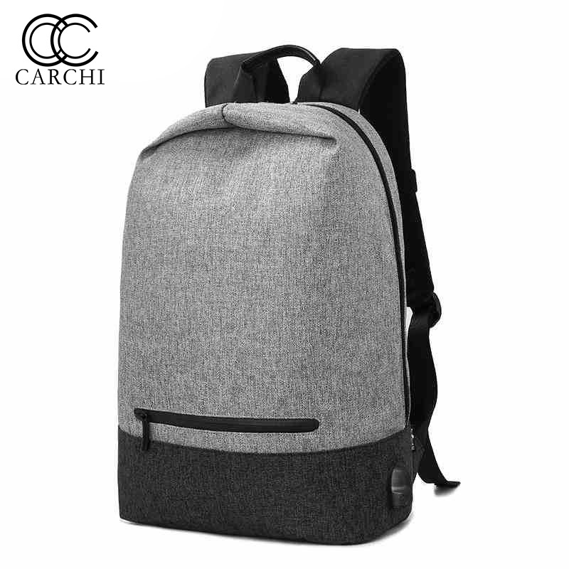 CARCHI Brand Laptop Backpack Rucksacks Leisure For Feenage Boys Mochila USB Charge Computer Backpacks Male Bags 42*27*14 cnc dc spindle motor 500w 24v 0 629nm air cooling er11 brushless for diy pcb drilling new 1 year warranty free technical support