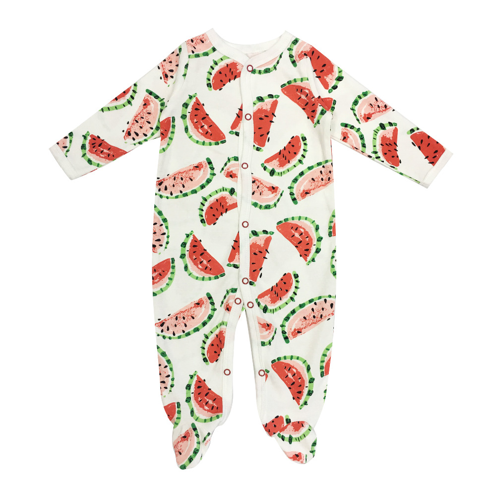 Spring-Autumn Newborn Baby Rompers 100% Cotton Long Sleeves Baby boy girl Clothes Comfortable Baby Pajamas children set