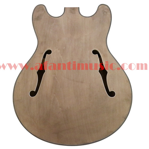 где купить Afanti Music DIY guitar DIY Electric guitar body (ADK-033) дешево