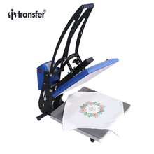 "i-transfer 16″ x 24 "" T-shirts Heat Press Transfer Machine Manual Sublimation Machine Printer Sapphire HPM-09A46"