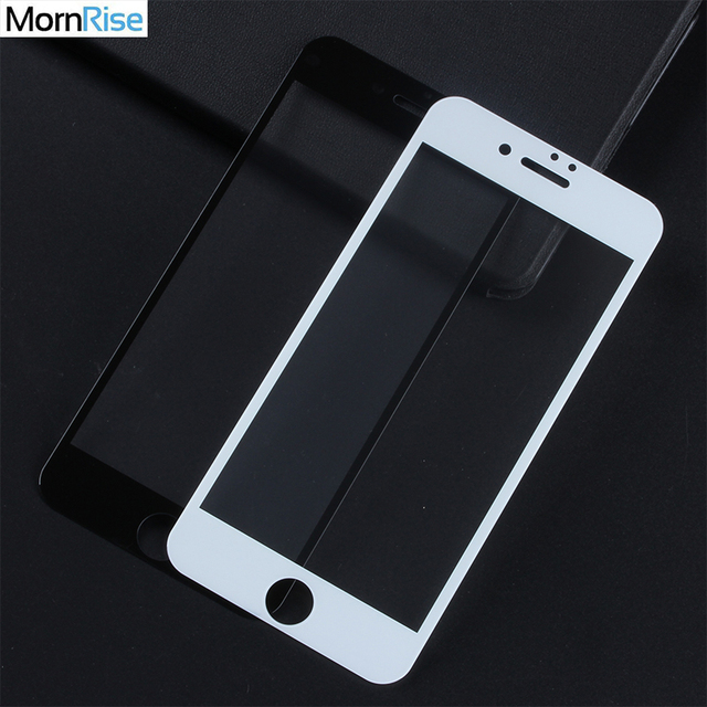 0.26mm Full Screen Tempered Glass Film For iPhone 7 Screen Protector Gorilla Protective Glass For iPhone 6 6S X 8 Plus Guard 9H