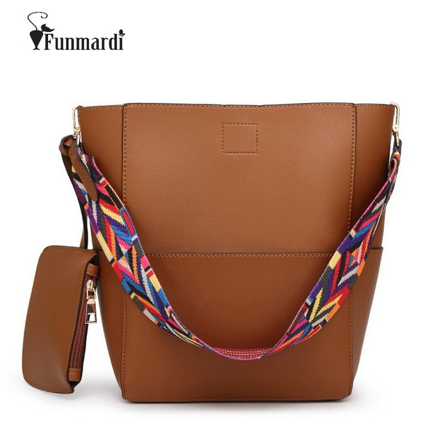 Luxury Fashion PU leather Handbags star style bucket bags ribbons belt Brand design Women Bags Famous totes bags WLHB1466