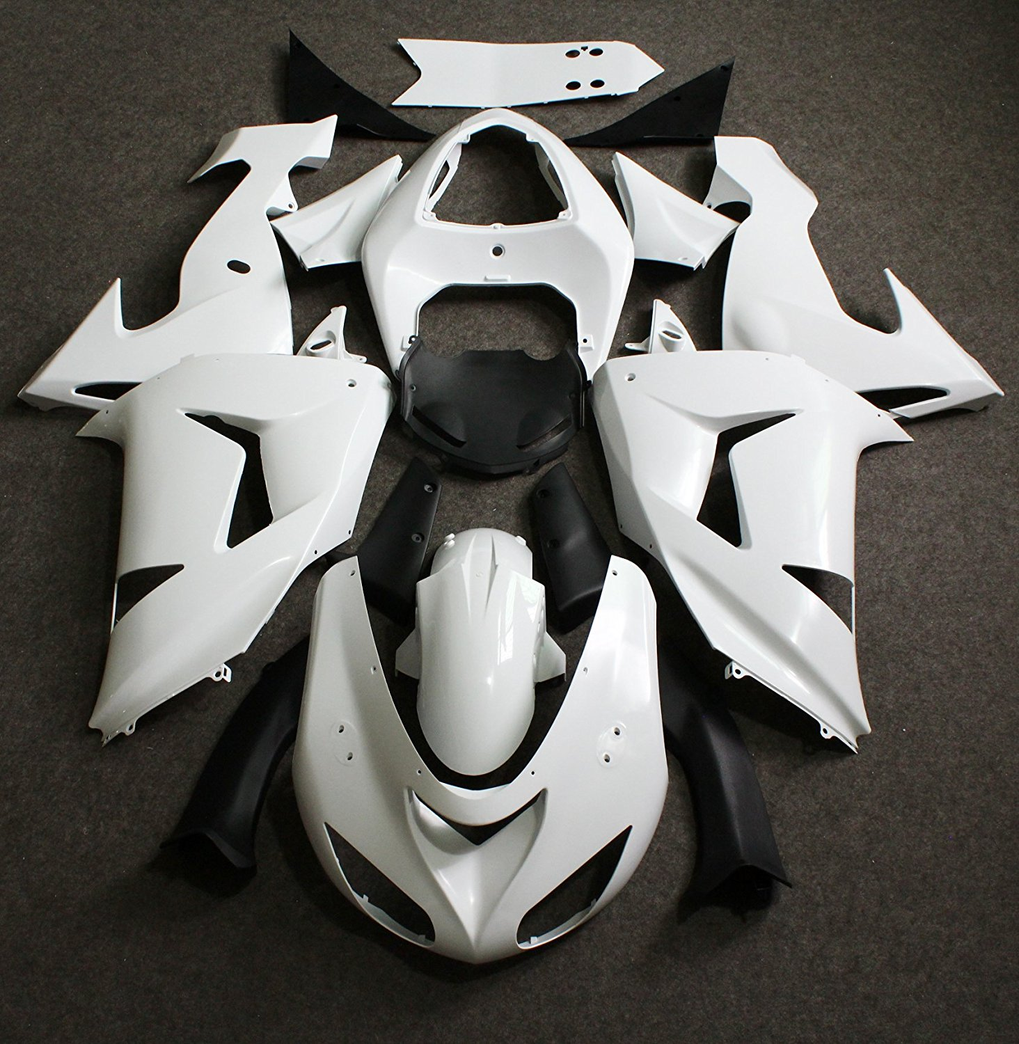 Motorcycle Unpainted Fairing Kit For Kawasaki Ninja ZX-10R ZX10R 2006 - 2007 ZX 10R 06 07 Bodywork Fairings Injection Molding avignon джинсовая верхняя одежда