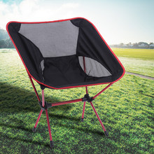 Portable Folding Fishing Chair Camping Chair Seat 600D Oxford Cloth Aluminium Fishing Chair for Outdoor Picnic BBQ Beach Chair(China)