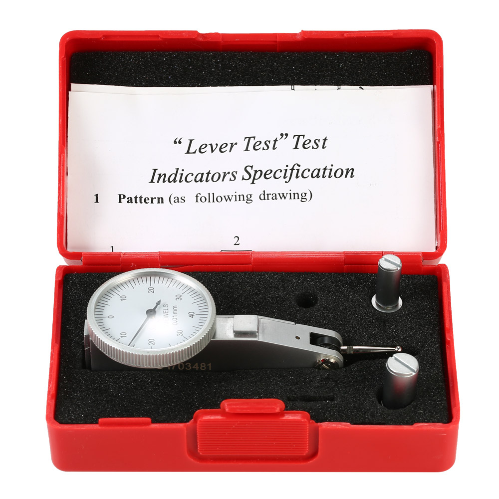 0 0 8mm Leverage Dial Indicator Measurement Gauge Dial Test 0 01mm Accuracy Indicator Tool Measuring Instrument in Dial Indicators from Tools