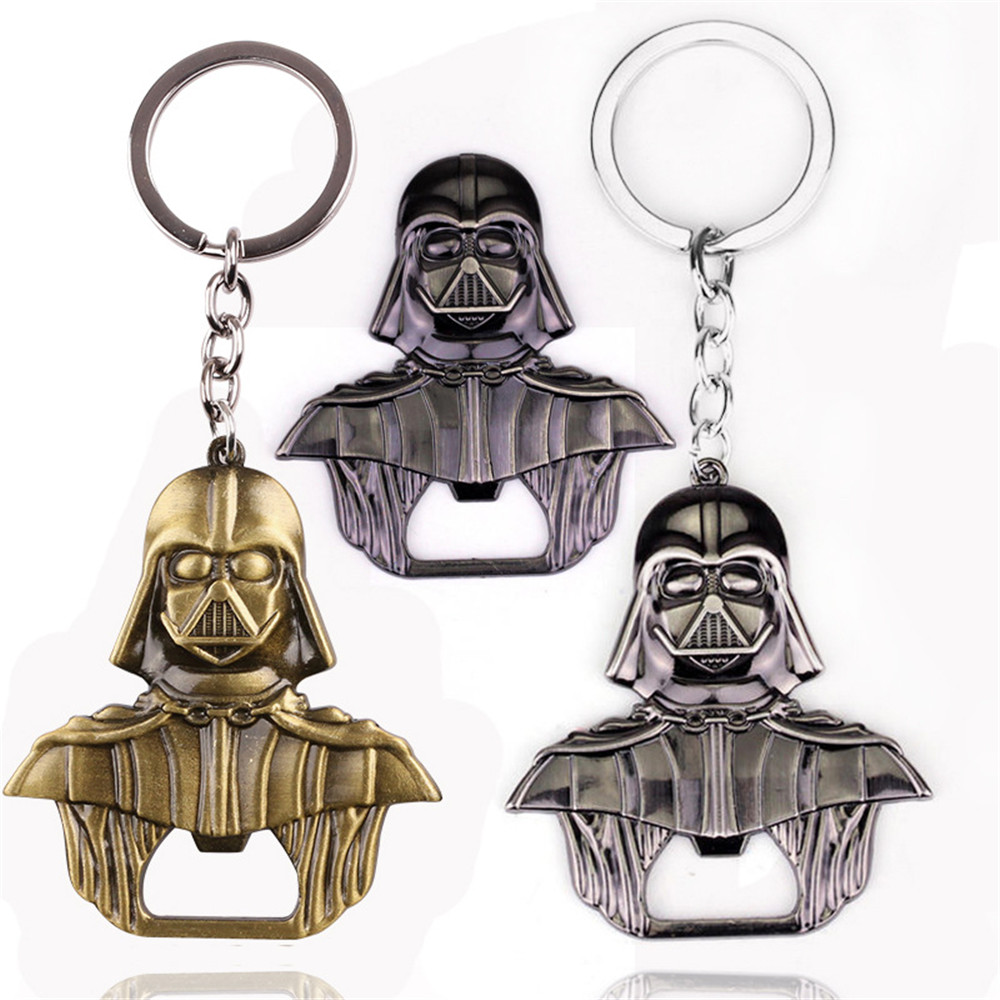 Star Wars Darth Vader Alloy Beer Bottle Opener Keychain Jewelry Toy High Quality Openers For Kitchen Tools Metal Alloy Style