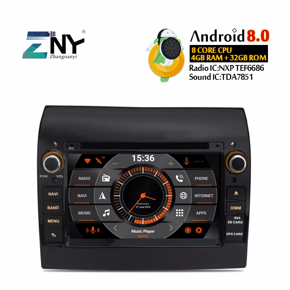 7 IPS Screen Android Car Radio Auto DVD Player For Ducato Jumper Boxer Multimedia FM RDS