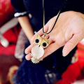 Hot!!! Sale Critter Animal National Ethnic Fox Horse Owl Winter Sweater Chain Clothing Accessories Long Pendent Necklace