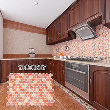 Kitchen Wall Tile Sticker Decor Floor New Design Luxury Easy Diy Remove Home 10.9x9.3