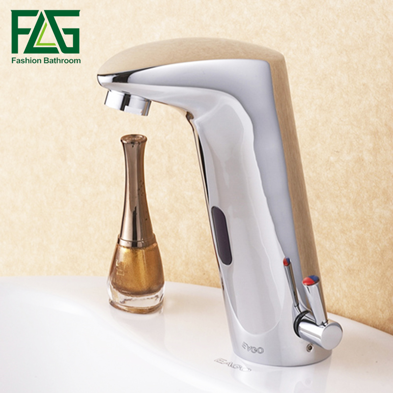 Free Shipping Automatic Sensor Faucet, hot and cold Automatic Electronic Hands Free Mixer Sensor Tap Faucet free shipping roland sp540 encoder strip sensor