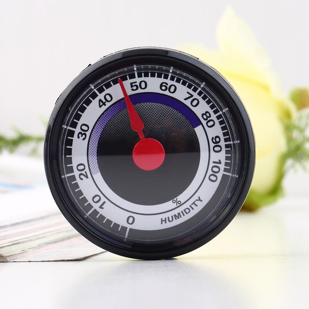 Dropshipping Hot Search 1pc New Portable Mini Accurate Durable Power-Free Indoor Outdoor Humidity Hygrometer Meter