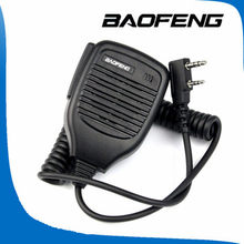 Baofeng PTT Speaker Mic for Kenwood BAOFENG UV-5R TYT Retevis H777 Walkie Talkie Ham Radio Hf Transceiver(China)