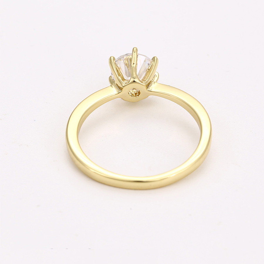 7e23c439f Engagement women costume jewellry rings precious stone designer gold color  lady clothing accessories jewelry ring giftsC017334-in Rings from Jewelry  ...