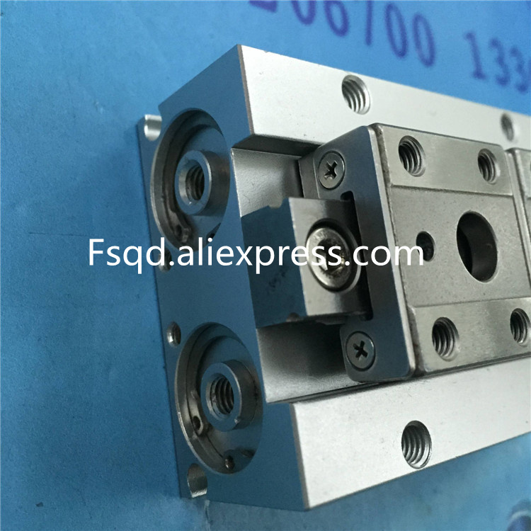 MHF2-16D Thin pneumatic finger Sliding cylinder air cylinder pneumatic component air tools MHF series cxsm10 10 cxsm10 20 cxsm10 25 smc dual rod cylinder basic type pneumatic component air tools cxsm series lots of stock