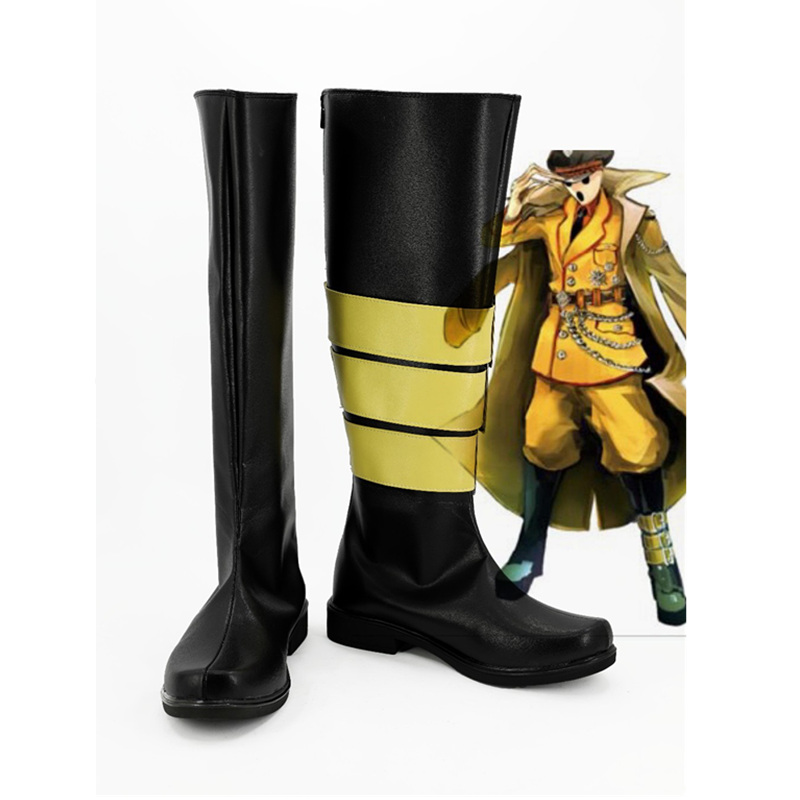 Anime Overlord Pandora s actor Cosplay Shoes Boots For Halloween Christmas Carnival For Men Women