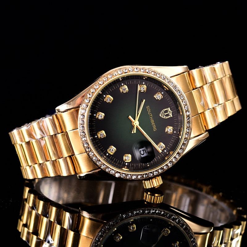 New  Watch Women Fashion Luxury Watch Reloj Mujer Stainless Steel Quality Diamond Ladies Quartz Watch Women Rhinestone Watches