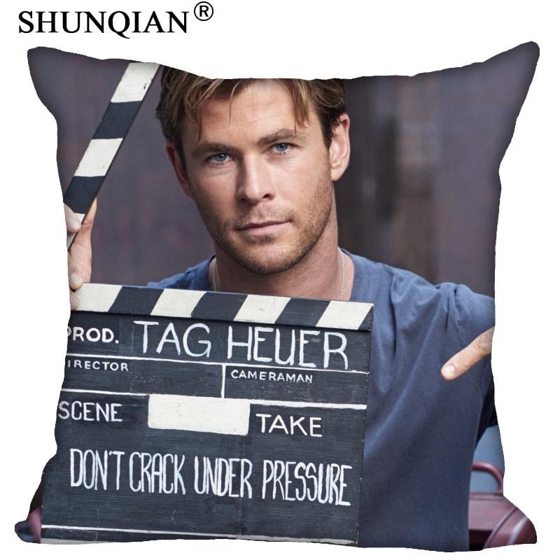 Custom Pillowcase Chris Hemsworth Square Zipper Pillow