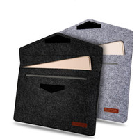 For Ipad Pro 10 5 2017 Shockproof Wool Felt Tablet Sleeve Bag Pouch Case For Samsung