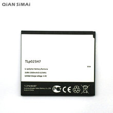 цена на 1pcs 100% High Quality TLP025H7 2500mAh Battery For ALCATEL one touch TLp025H7  Freeshipping